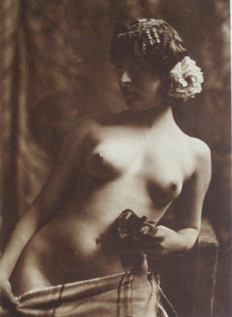 German Jewess Nude by Prof. Heinrich Maass, Berlin