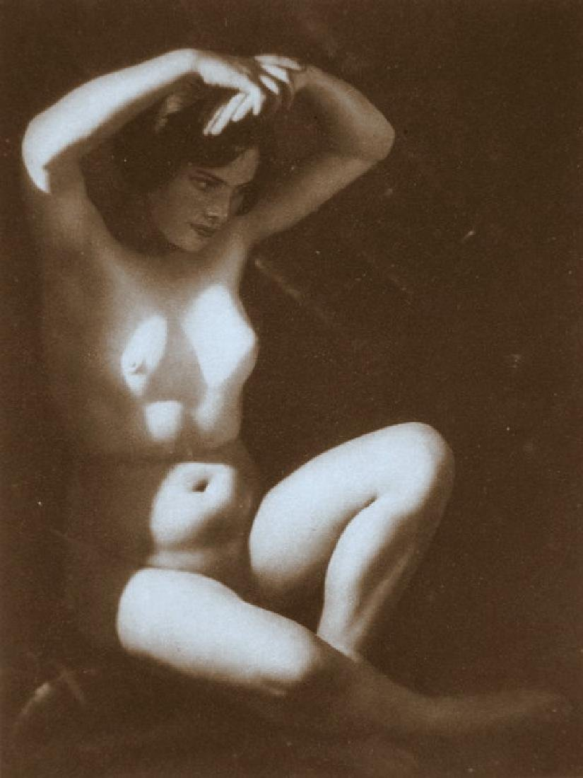 Czech Nude by Frantisek Drtikol, Prague