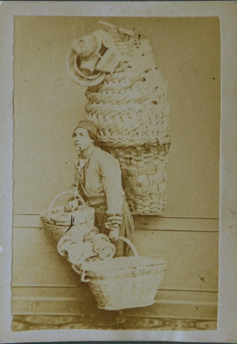 Constantinople Basket Seller