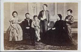 Photo montage of President Grant & Family