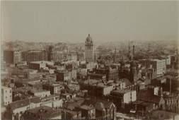 Panorama of San Francisco, California, showing the Call