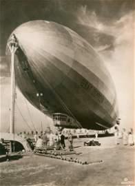 Graf Zeppelin at Mines Field, Los Angeles, c1930