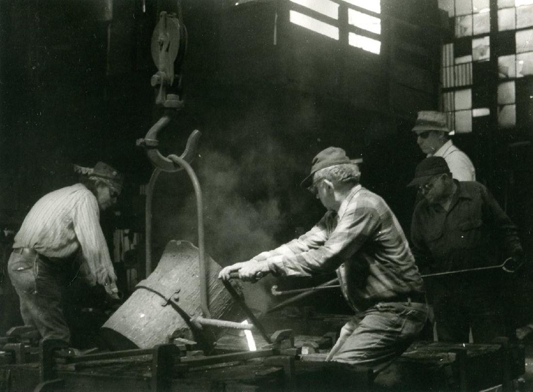 Industrial Photograph by John Crerar Reid