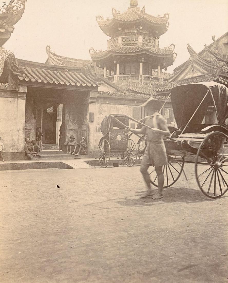 Chinese Street Scene. C1910
