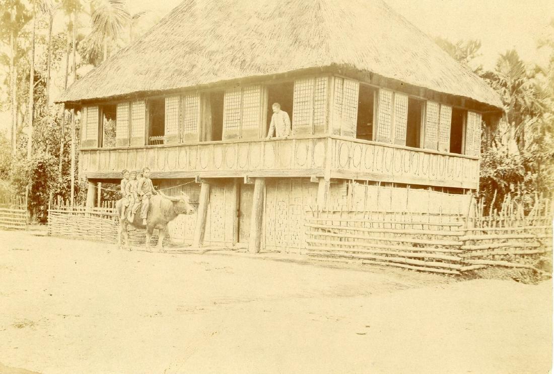 House in Philippines. c1901