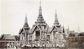 Siam - Funeral Pyre of King Chulalongkorn. c1910
