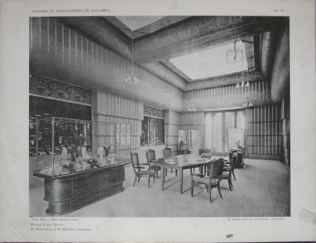 Pavilion des Gants, interior