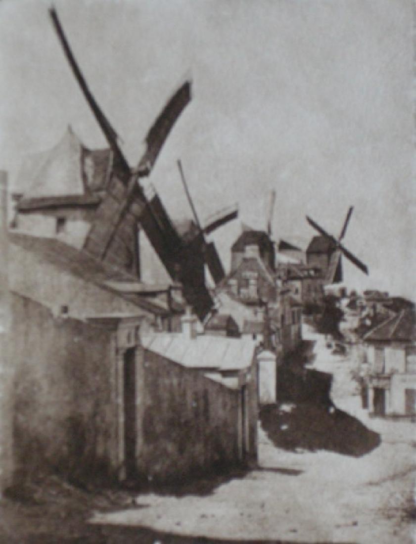 Les Moulins de Montmartre by Hippolyte Bayard vers 1842