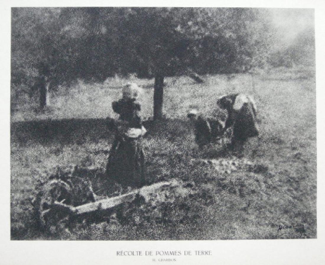 Recolte de Pommes de Terre by H. Chardon.