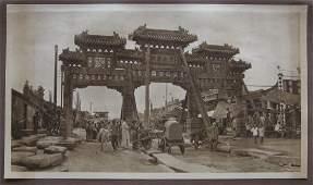 A Street in Old Peking. c1920
