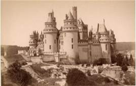 Chateau at Pierrefonds, France. c1880