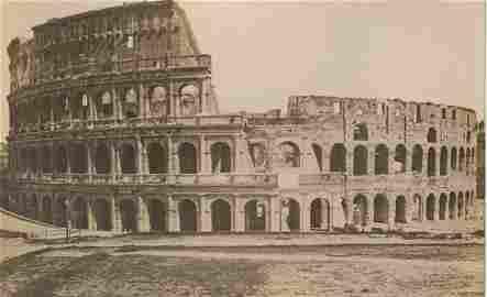 Colosseum, Rome, c1875