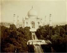 Agra, India - The Taj Mahal. C1875