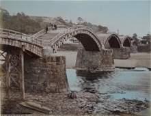 Kintau Bridge, Japan. c1890