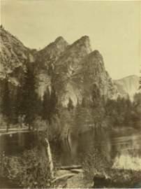 Three Brothers, Yosemite, California. C1861