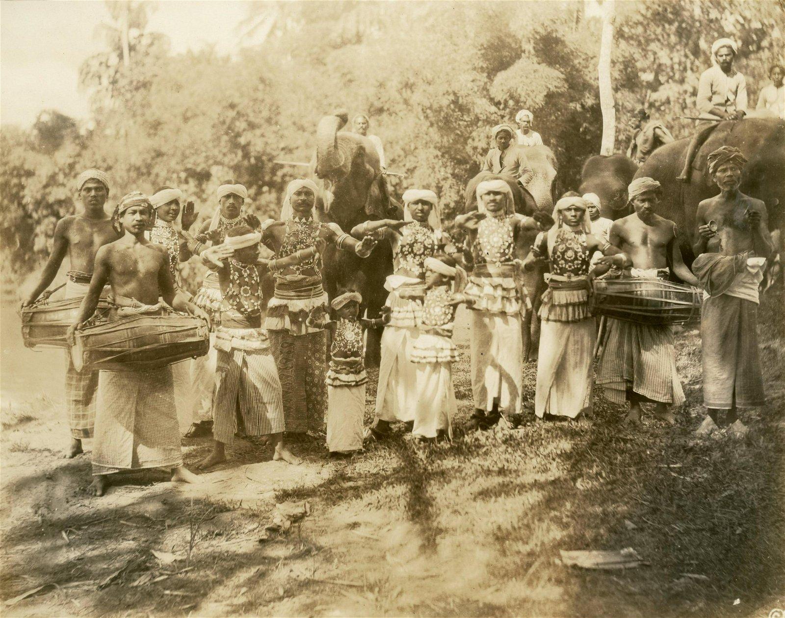 Devil Dancers of Ceylon. c1925