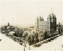 The Mormon Square, Salt Lake City. c1910