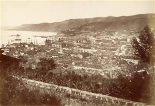 Triest during AustroHungarian Empire days c1880