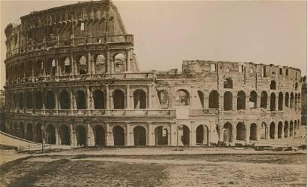 Colosseum, Rome, c1875.