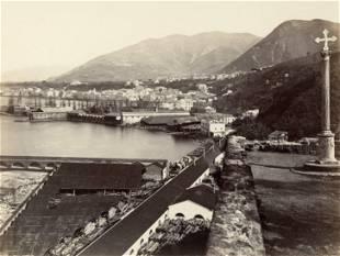 Castellammare Bay of Naples Italy c1875