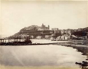 Port of Maurizio Riviera di Ponente Italy c1880