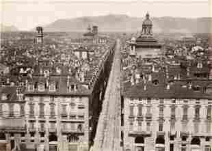 Panorama of Turin from Pallazo Madama C1880