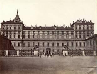 Moncalieri Castle Turin c1880
