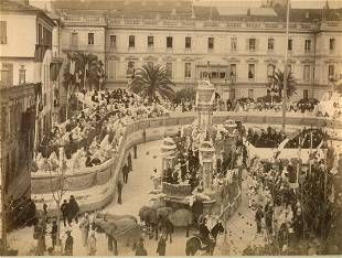 Mardi Gras Carnival Nice Francec1880