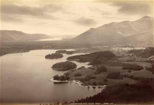 Derwentwater from Falcon Cragg Lake District UK