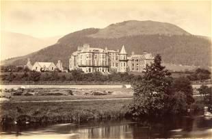 Keswick Hotel and Latrigg Lake District UK c1890