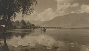 Dal Lake, Srinigar, Kashmir. c1935