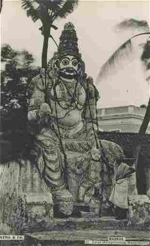 Large Idol representing Mannarsawmy c1950
