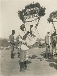 Native Harpist, Samolia. c1925