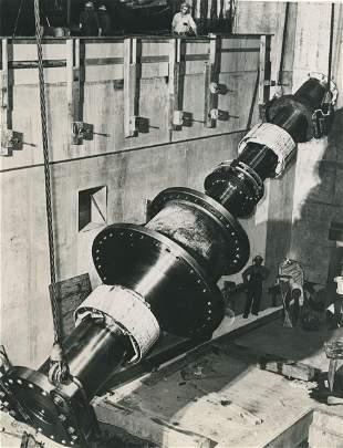 75 Ton Shaft for 75000 Kilowatt Generator at Grand