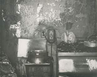Fire Scene c1950