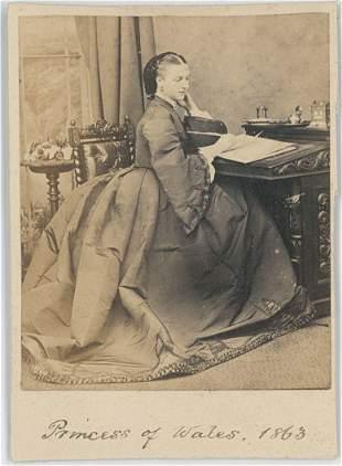 Alexandra Princess of Wales 1863