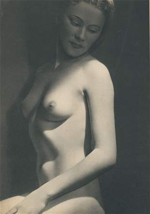 Nude by Andre Garban. C1950