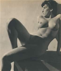 Nude by Pierre Boucher. c1950