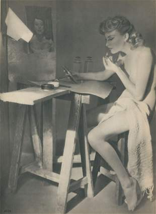 Nude by Amson. c1950