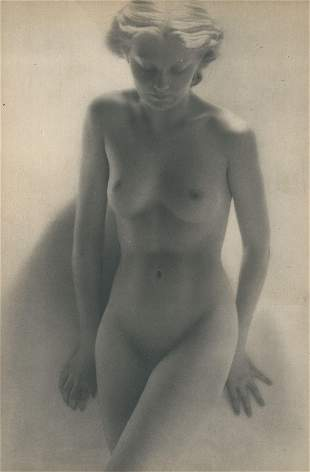 Nude by laure Albin-Guillot. C1950