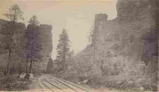Castle Gate, Utah.c1875