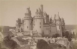 Chateau at Pierrefonds France after the restoration
