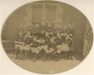 Rugby Team England c1880