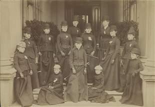 Young Ladies Riding School c1880