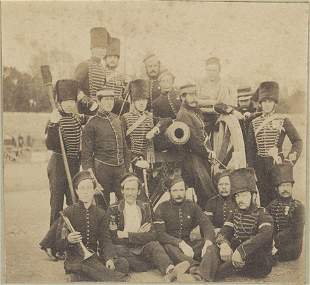G Troop Royal Horse Artillery October 1856