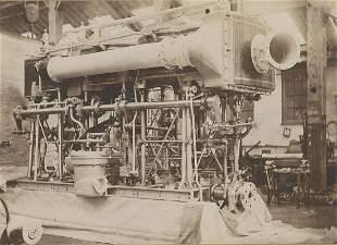 Gunboat Engines in Greenwich England c1898