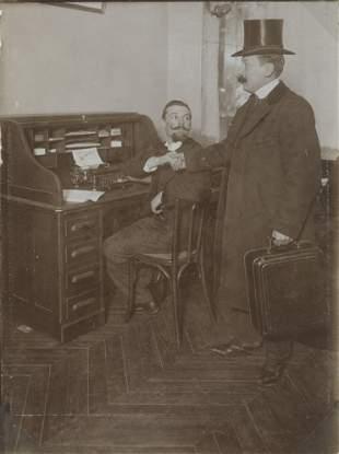 The Modern Office c1890
