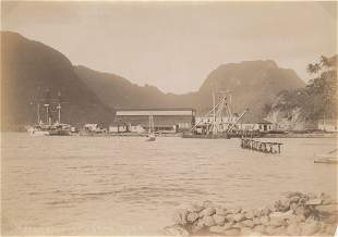Pago Pago Naval Station Samoa c1904
