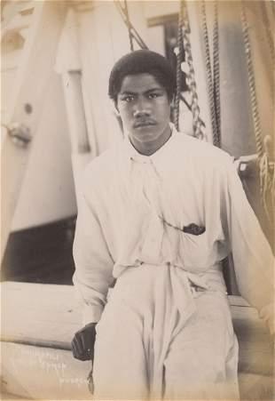 King of Samoa Malietoa Tanumafili C1890