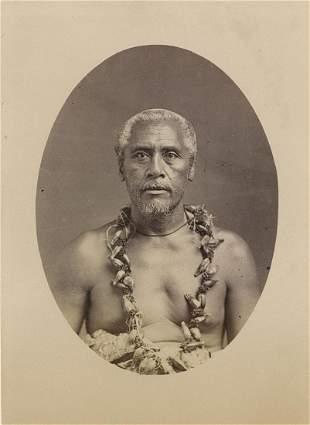 King Matafa of Samoa C1880